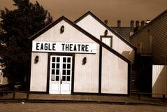 Construction restaurée de théâtre d'aigle de cru Photographie stock
