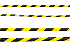 Construction ribbon Stock Image
