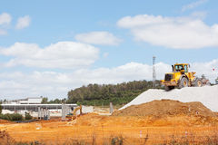 Construction of road Stock Photography