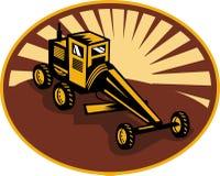 Construction road motor grader Stock Image