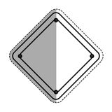 Construction road sign. Icon  illustration graphic design Royalty Free Stock Image
