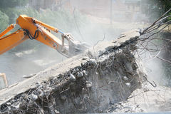 Construction of roads for cars Stock Photo