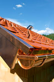 Construction on roof Royalty Free Stock Photos