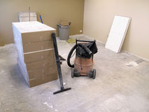 Construction of Room Royalty Free Stock Image