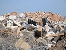 Construction Rubble. Stock Image