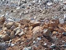 Construction Rubble. Royalty Free Stock Photos