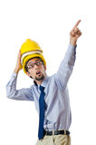 Construction safety concept Stock Photos