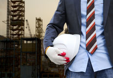 Construction safety concept Royalty Free Stock Images