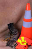 Construction Safety stock image
