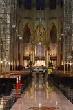 Construction Saint Patrick's Cathedral Royalty Free Stock Photography