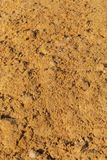 Construction sand as an abstract background.  royalty free stock images