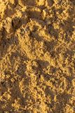 Construction sand as an abstract background.  stock photography