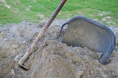 Construction sand Stock Photos