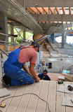Construction of Sanki Luge Center for Winter Olympics 2014 Royalty Free Stock Photography