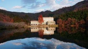 Construction sans compter que le lac Image libre de droits