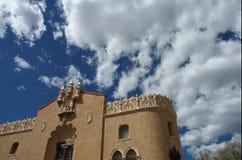 Construction, Santa Fe, Mexique photographie stock libre de droits