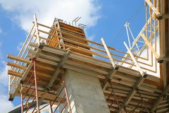 Construction Scaffold Stock Images