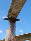 Construction scaffolding Stock Photo