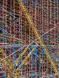 Construction scaffolding Royalty Free Stock Image