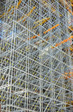 Construction Scaffolding royalty free stock photo