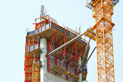 Construction scaffolds Royalty Free Stock Photos