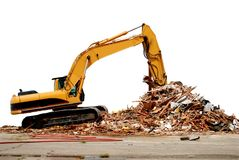 Construction scene Stock Photography