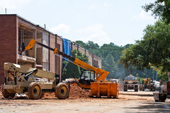Construction at a School Royalty Free Stock Photo