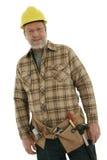 Construction senior man Royalty Free Stock Photography