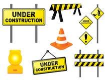 Construction set. Construction icon set.  Please check my portfolio for more construction illustrations Stock Image