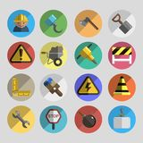 Construction set icons Royalty Free Stock Photography
