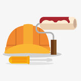 Construction set tools icon Royalty Free Stock Images