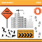 Construction set vector. Stock Photo