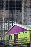 Construction shack Royalty Free Stock Photography