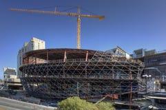Construction of the Shaw Center, Ottawa, Canada Royalty Free Stock Photos