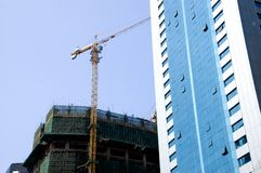 Construction in Shenzhen, China Royalty Free Stock Photography