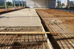 Construction  of shopping center Stock Photos