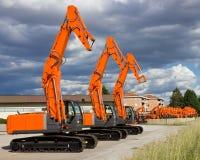 Construction shovel Royalty Free Stock Photo