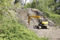 Construction Shovel Stock Image