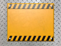 Construction sign Royalty Free Stock Images