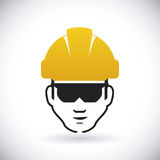 Construction signals Stock Image