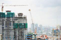 Construction in Singapore Stock Photos