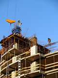 Construction site. Cast in situ constructions Stock Photography