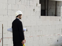 Construction site. Royalty Free Stock Photography