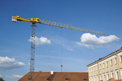 Construction site. With tower cranes Royalty Free Stock Images