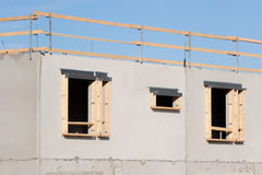 Construction site. Details on the building construction site Stock Image
