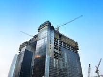 Construction Site. At Hong Kong Royalty Free Stock Photos