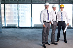 On a construction site Stock Photo