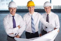 At construction site Royalty Free Stock Photo