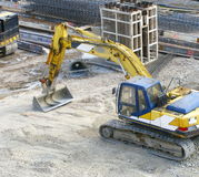 Construction-site Photographie stock libre de droits