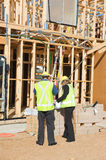 At the construction site Royalty Free Stock Photos